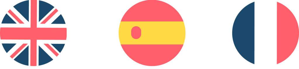 traducteurs espagnols drapeaux